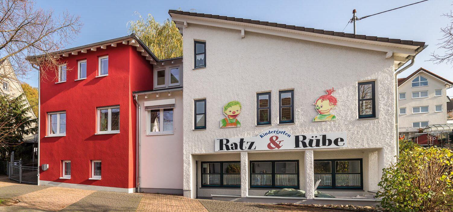 im Kindergarten Ratz & Rübe